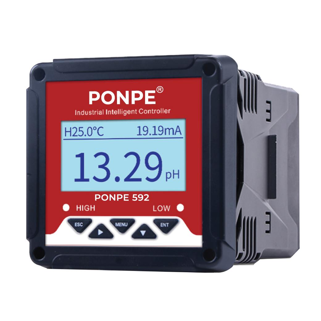 PONPE 592 PH/ORP Controller เครื่องวัดและควบคุมพีเอช