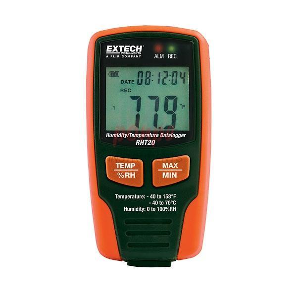 RHT20 Extech เครื่องวัดและบันทึกอุณหภูมิ ความชื้น
