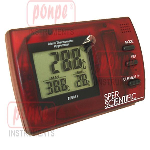 เครื่องวัดอุณหภูมิ ความชื้น ตั้ง Alarm HI/LOW ได้ 800041R