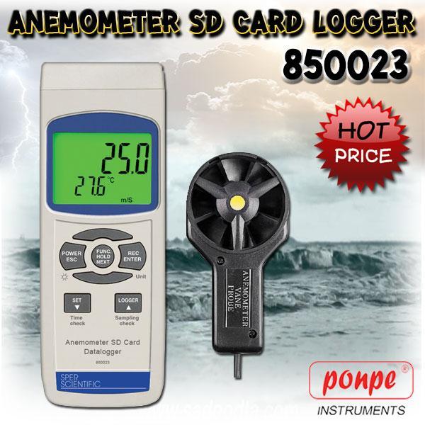 850023 SPER SCIENTIFIC เครื่องวัดความเร็วลม