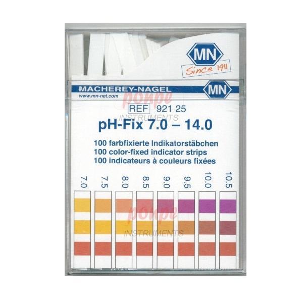 ก้านวัดกรด ด่าง pH Test Strip pH-Fix 7.0-14.0