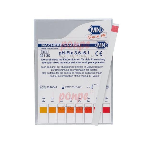 ก้านวัดกรด ด่าง pH Test Strip pH-Fix 3.6-6.1