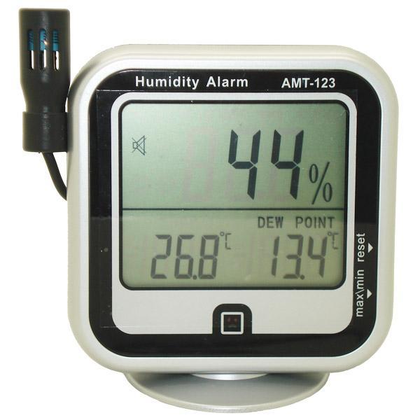 AMT-123 / JEDTO เครื่องวัดอุณหภูมิ ความชื้น Humidity Alarm