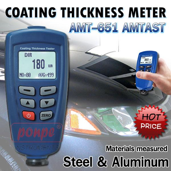 AMT-651 AMTAST เครื่องวัดความหนา Coating Thickness meter