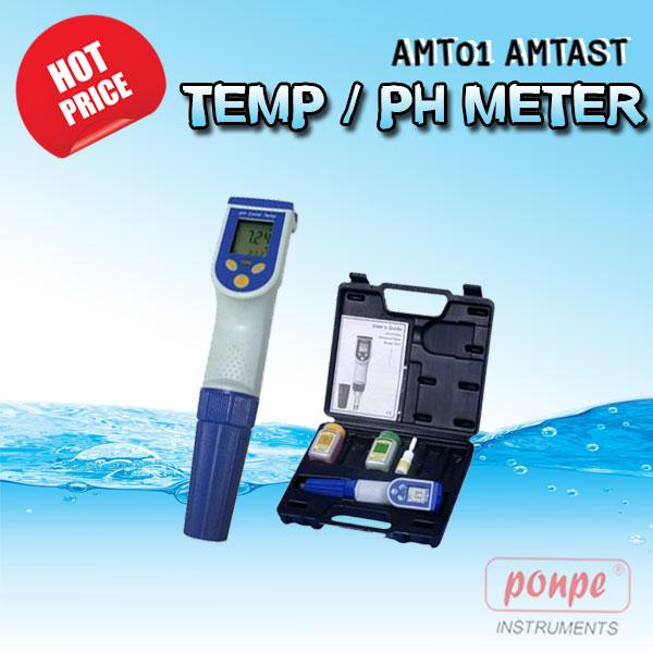 AMT01 / AMTAST เครื่องวัดกรดด่าง Pen Type pH Meter