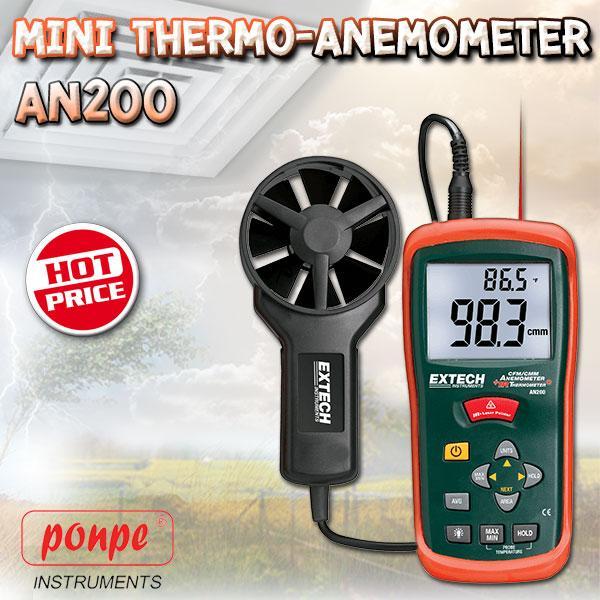 AN200 EXTECH เครื่องวัดความเร็วลม Anemometer