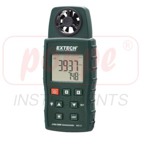 AN510 / EXTECH เครื่องวัดความเร็วลม CMM/CFM Anemometer + Type K