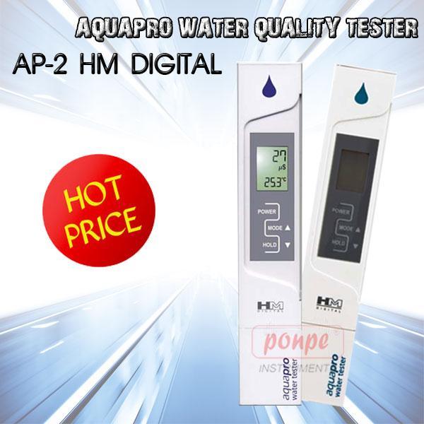 AP-2 HM Digital เครื่องวัดความนำไฟฟ้า/คุณภาพน้ำ AquaPro Water Quality Tester (EC)