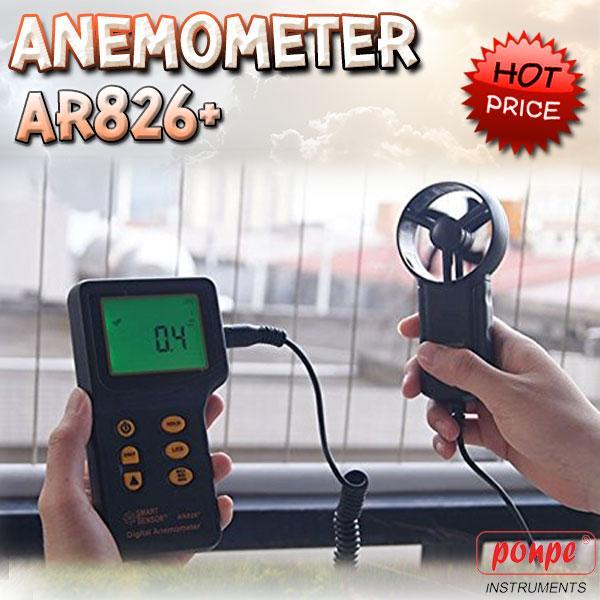 AR826+ SMART SENSOR เครื่องวัดความเร็วลม