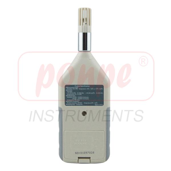 AR827 / SMART SENSOR Moisture Meter Humidity Temperature Meter