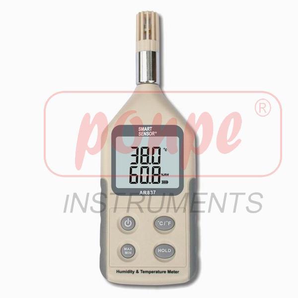 AR837 / SMART SENSOR เครื่องวัดอุณหภูมิ ความชื้น