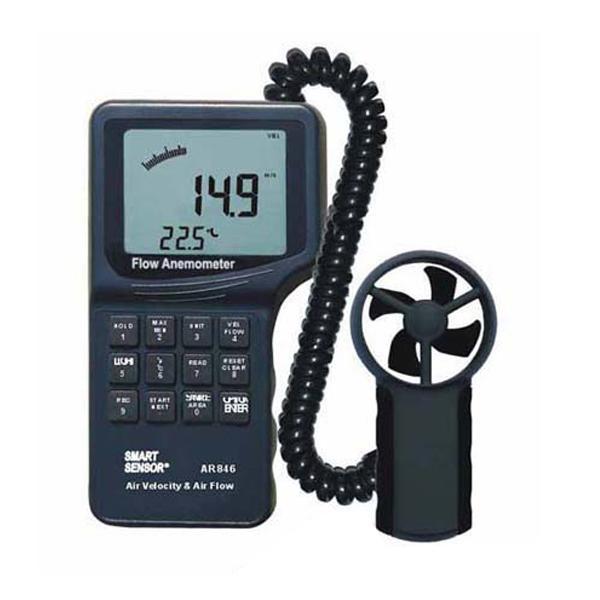 AR846 Smart Sensor เครื่องวัดความเร็วลม