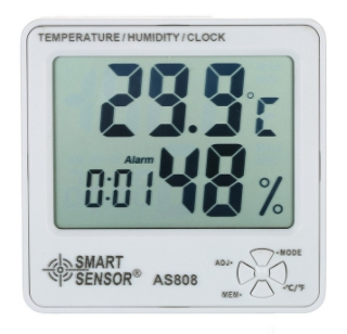 AS808 Smart Sensor เครื่องวัดอุณหภูมิ/ความชื้น Humidity/Temperature Meter