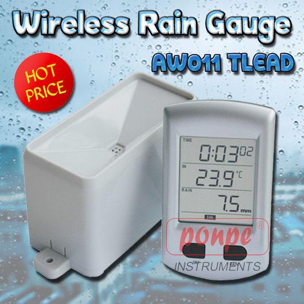 AW011 / TLEAD เครื่องวัดปริมาณน้ำฝน Wireless Rain Gauge