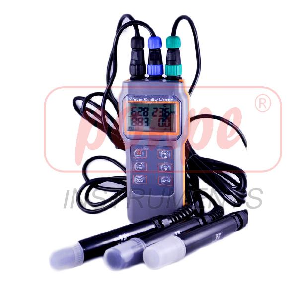 8603 AZ INSTRUMENT Combo PH/COND/Salt/DO Meter