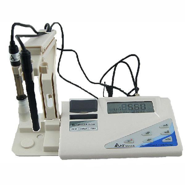 86555 AZ INSTRUMENT pH/ORP/TDS/EC/Salt วัดค่าโออาร์พี วัดมวลสาร ความนำไฟฟ้า และความเค็มSalinity printer