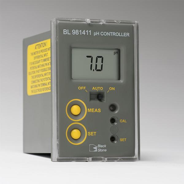 BL981411 HANNA เครื่องวัดและควบคุมค่าพีเอช pH Mini Controller