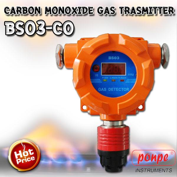BS03-CO / HW SENSOR เครื่องวัดก๊าซคาร์บอนมอนอกไซด์ Carbon Monoxide Gas Trasmitter