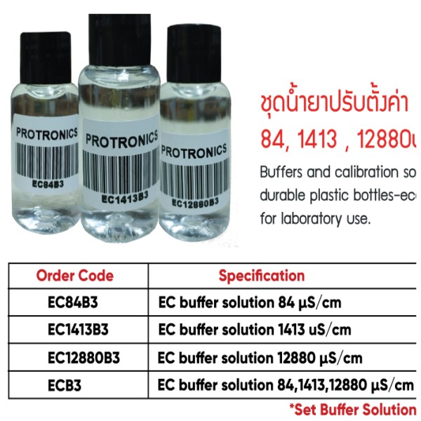 EC1413B3 Conductivity Buffer Solution 1413uS ขนาด 30mL