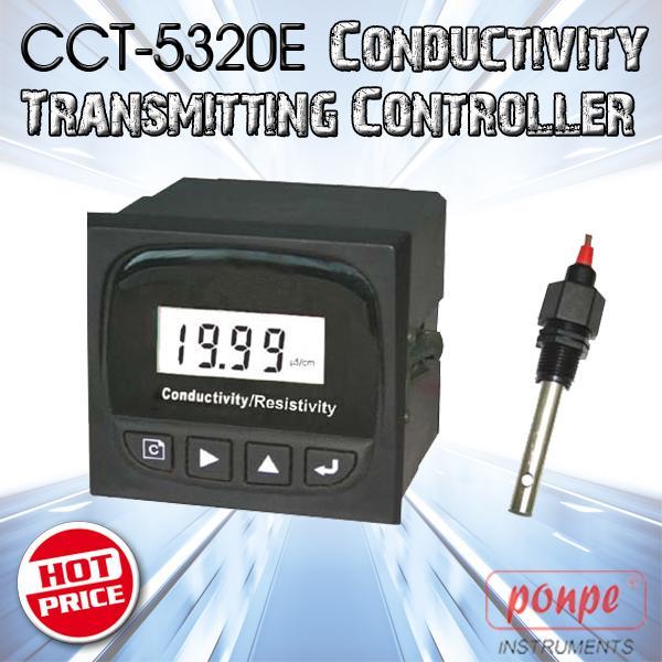 CCT-5320E / HEBEI CREATE เครื่องวัดและควบคุมค่าความนำไฟฟ้า