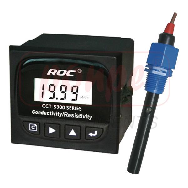 CCT-5320H / HEBEI CREATE เครื่องวัดและควบคุมค่าความนำไฟฟ้า