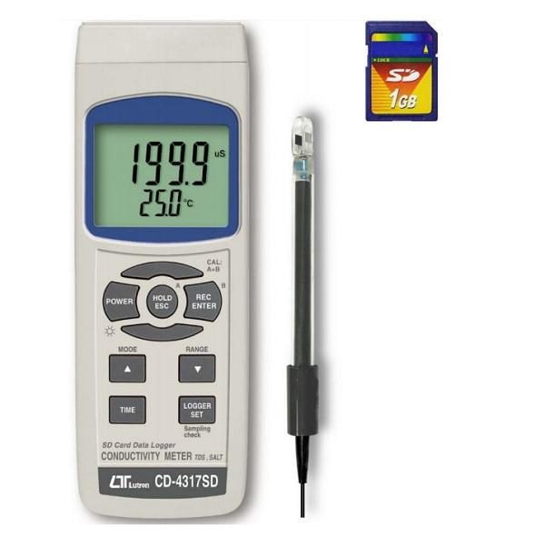 CD-4317SD Conductivity Meter