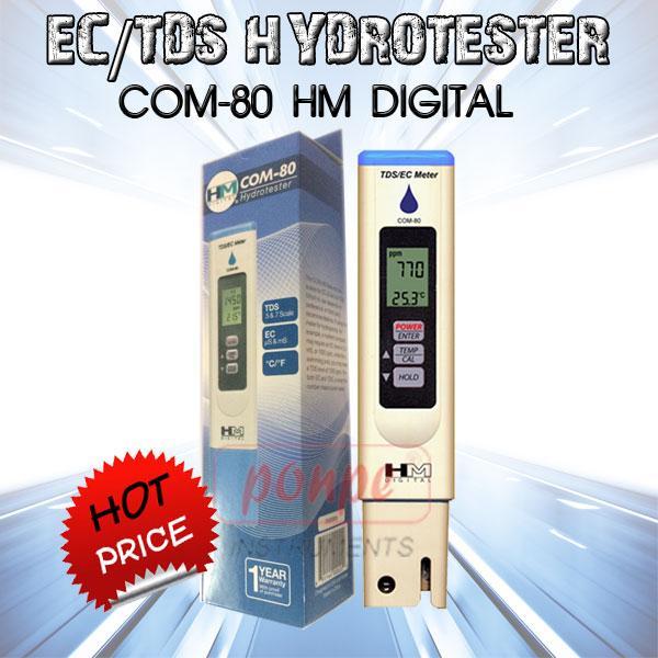COM-80 HM Digital เครื่องวัด EC/TDS HydroTester