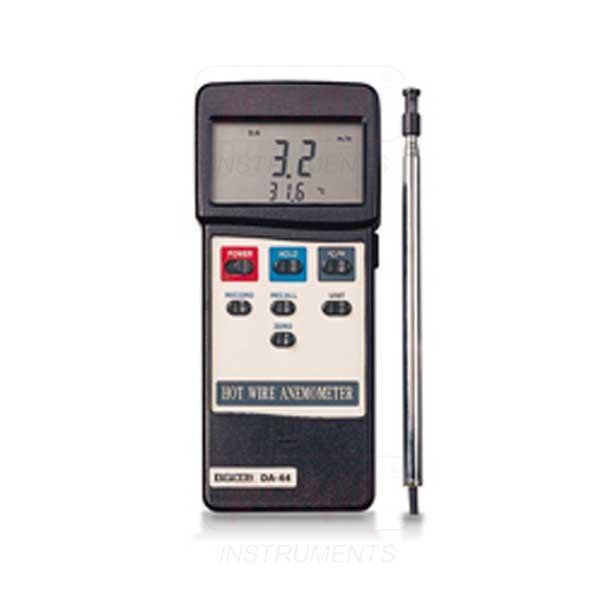 เครื่องวัดความเร็วลม-อุณหภูมิ Hot Wire DA-44