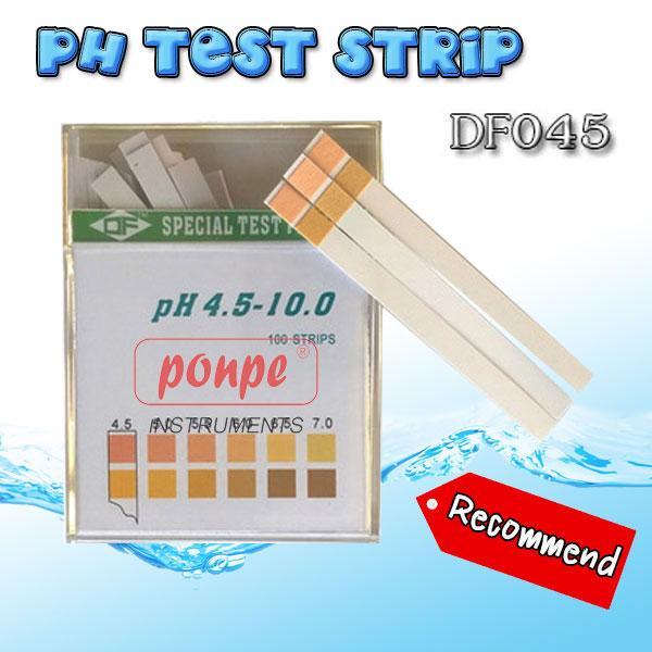 DF045 / JEDTO ก้านวัดกรดด่าง pH Test Strip