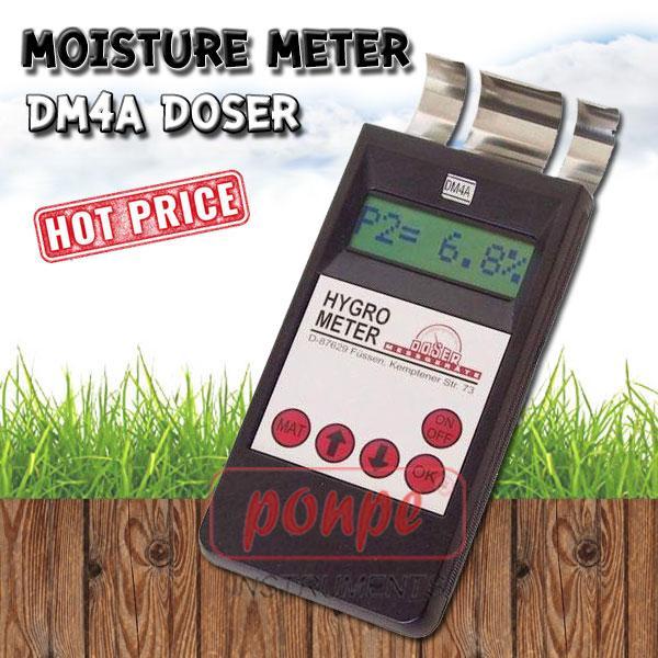 DM4A เครื่องวัดความชื้นวัสดุ กระดาษ ไม้ คอนกรีต