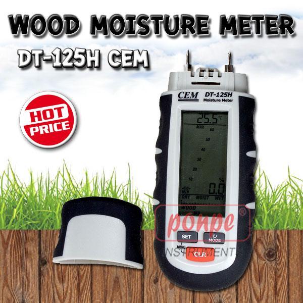 DT-125H CEM เครื่องวัดความชื้นในไม้ Wood moisture meter