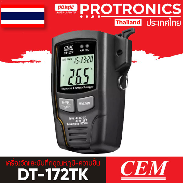 DT-172TK CEM Temperature and humidity logger