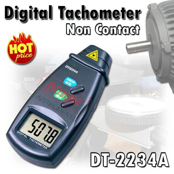 Tachometer เครื่องวัดความเร็วรอบ แบบใช้แสง DT-2234A