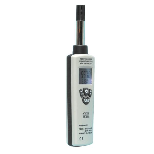 ST-321S / DT-321S CEM เครื่องวัดอุณหภูมิ ความชื้น Hygro-Thermometer