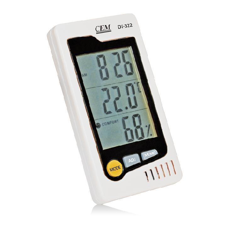 DT-322 / CEM เครื่องวัดอุณหภูมิ ความชื้น Temperature Hygrometer