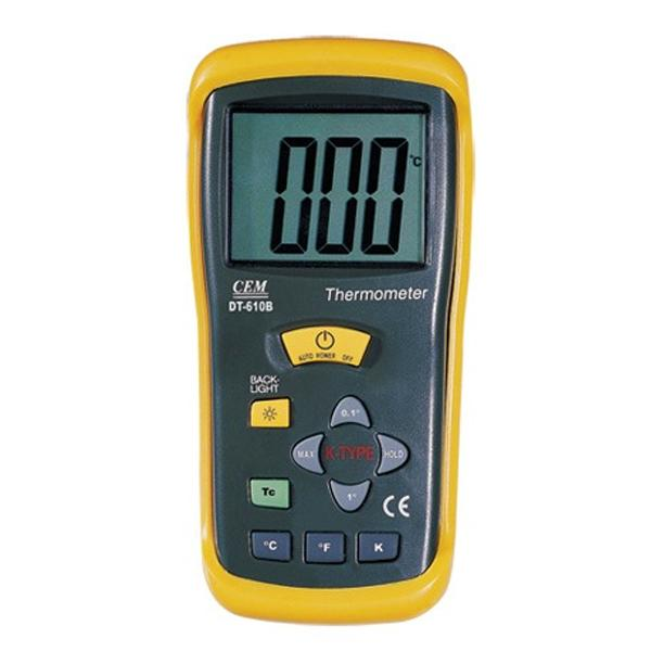 DT-610B / CEM เครื่องวัดอุณหภูมิ Digital Thermometer