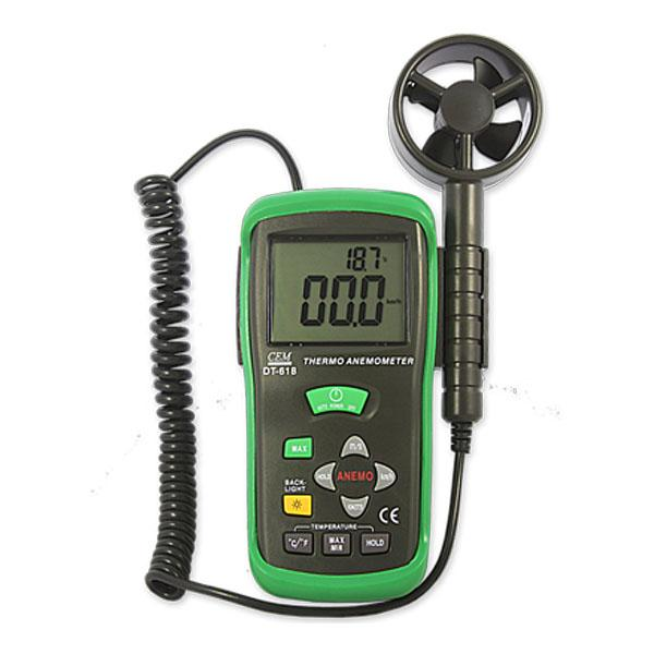 DT-618 / CEM Wind speed meter Thermo-Anemometer