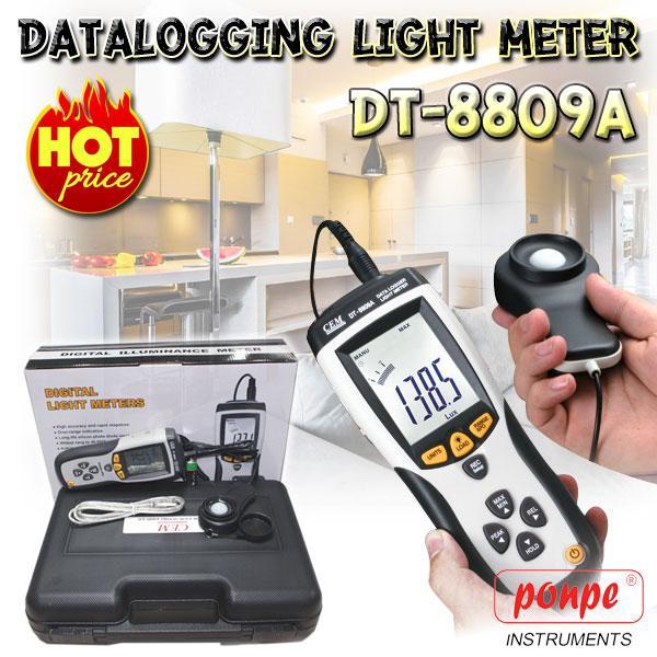 DT-8809A / CEM เครื่องวัดแสง Datalogging Light Meter