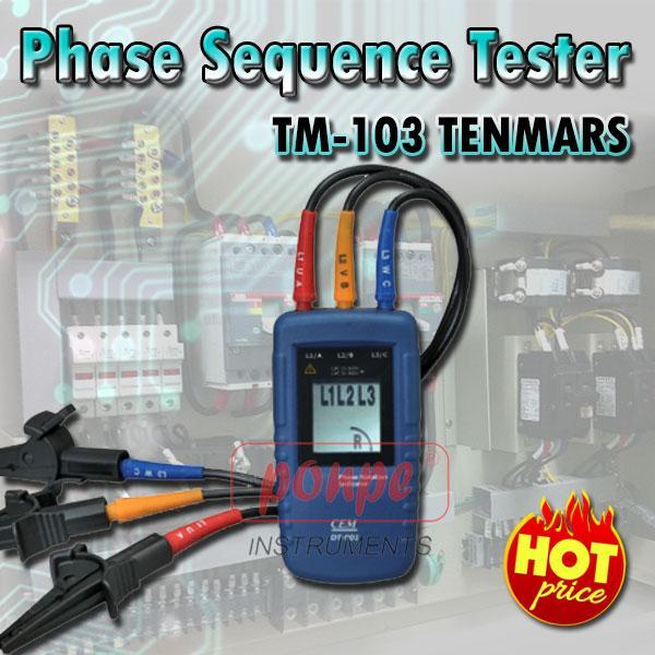 DT-901 / CEM เครื่องตรวจวัดลำดับเฟส Phase Sequence Tester