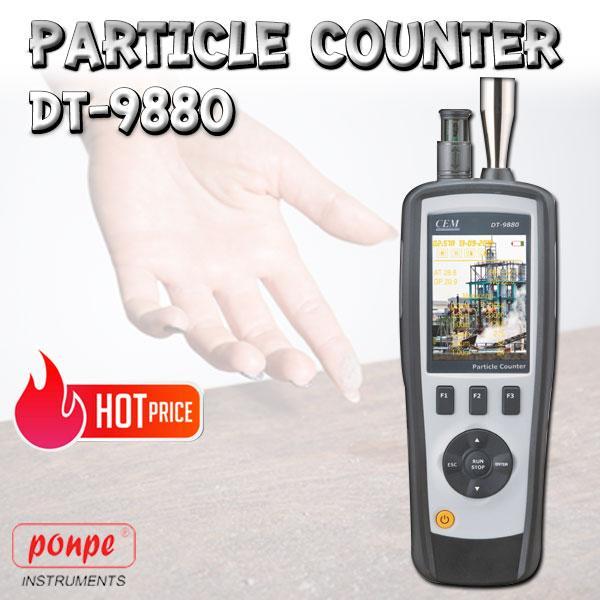DT-9880 / CEM เครื่องวัดฝุ่น Particle Counter