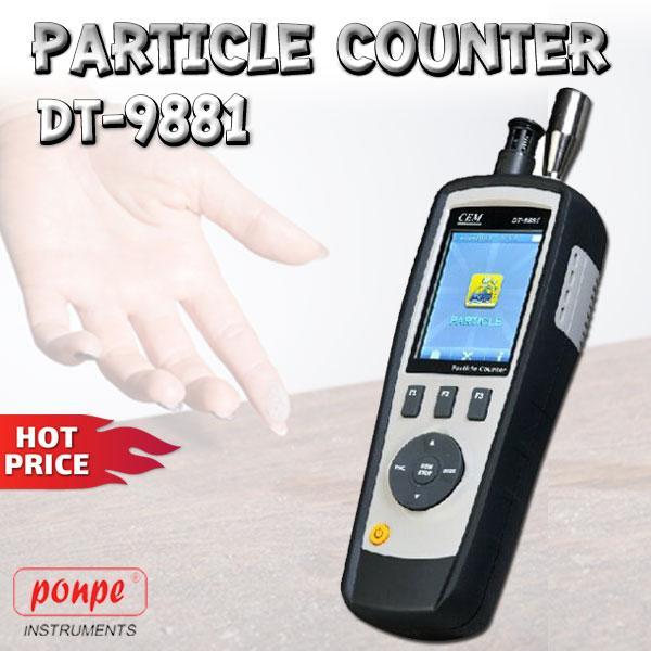 DT-9881 / CEM เครื่องวัดฝุ่น Particle Counter