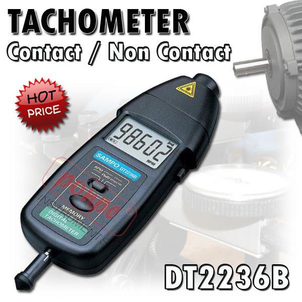 DT2236B JEDTO เครื่องวัดความเร็วรอบ Tachometer