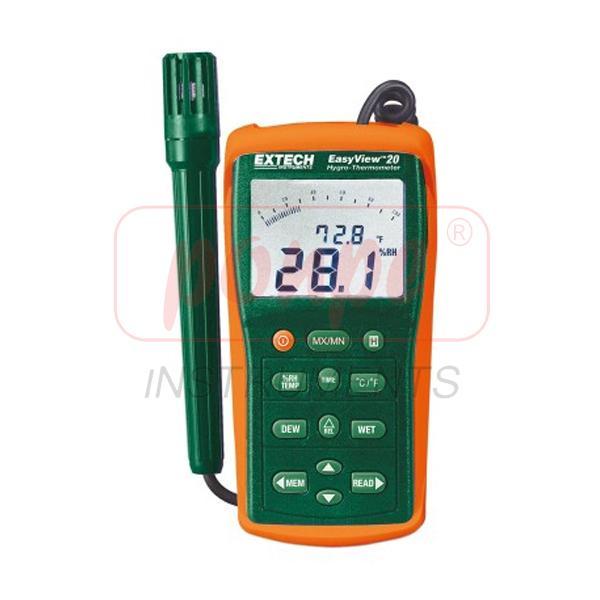 EA20 EXTECH เครื่องวัดอุณหภูมิ ความชื้น Hygro-Thermometer