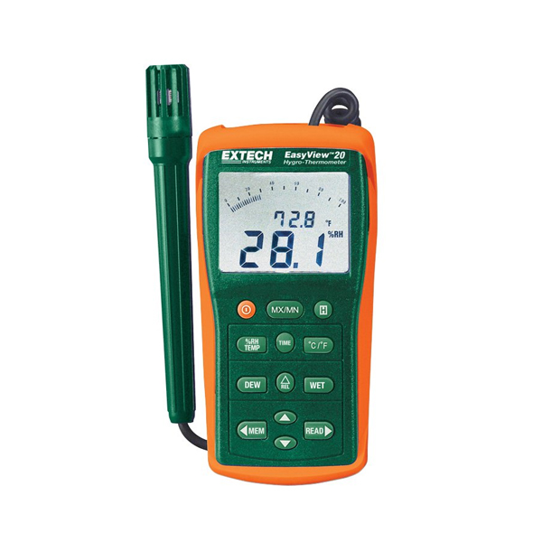 EA20-NIST / Extech Moisture Meter Hygro-Thermometer with NIST