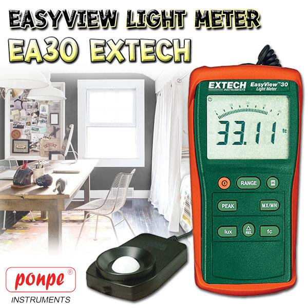 EA30 Extech เครื่องวัดแสง Lux Meter