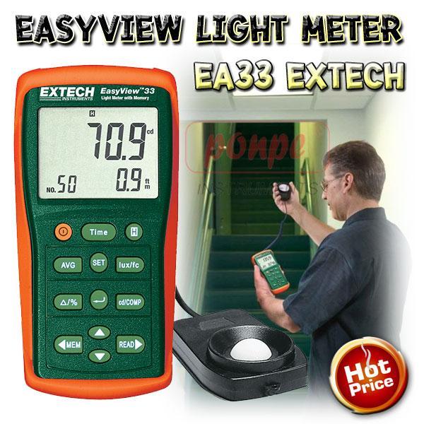 EA33 Extech เครื่องวัดแสง Lux Meter