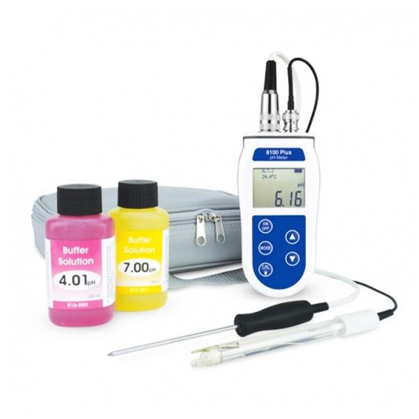 ETI 860-820 / 8100 Plus pH meter with interchangeable probe