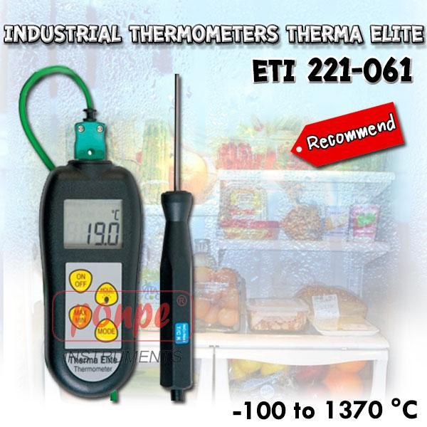 ETI 221-061 เครื่องวัดอุณหภูมิ Industrial Thermometers Therma Elite