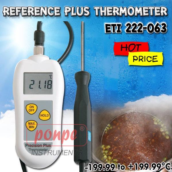 ETI 222-063 เครื่องวัดอุณหภูมิ Reference Plus Thermometer