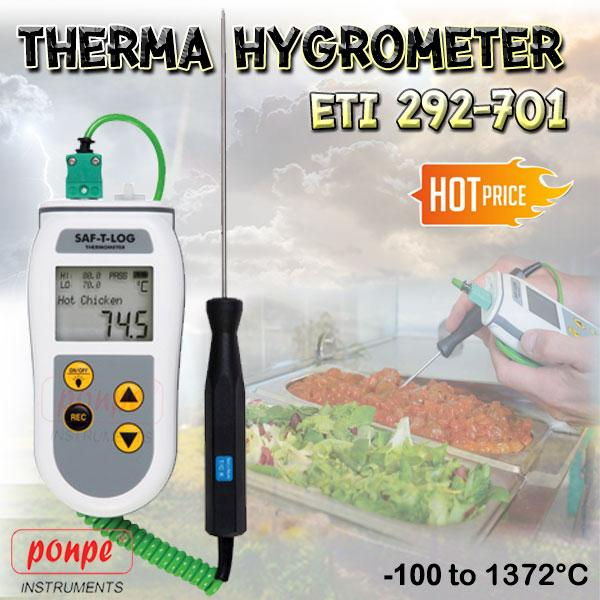 ETI 292-701 Saf-T-Log HACCP Recording Thermometer